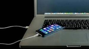 iphone charger with laptop