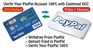 Verify PayPal With CM VVC