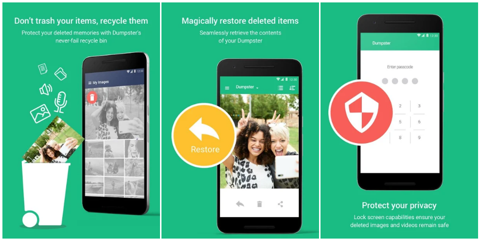 Download Android Data Recovery App – Deleted Photos by Dumpster Pro APK