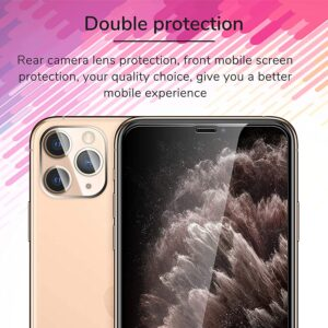 Get Mkeke Compatible with iPhone 11 Pro Screen Protector