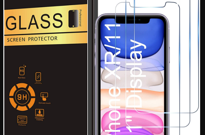 Ailun Glass Screen Protector for iPhone 11/iPhone XR