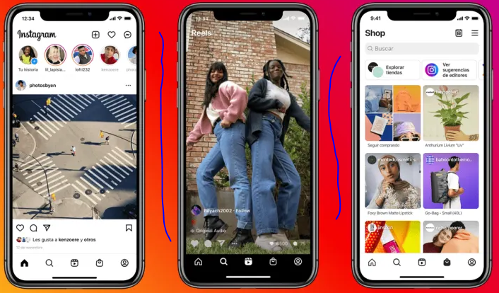 Instagram Homepage Redesigned after a long time