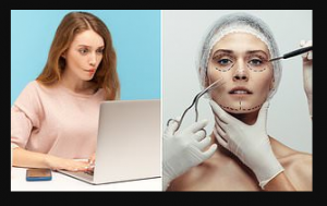 Plastic Surgery After Zoom App using