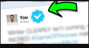 Want a blue tick on your Twitter account