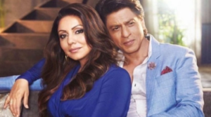 What gift did Shah Rukh Khan give to Gauri on her wedding anniversary?