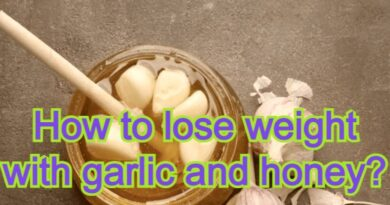 How to lose weight with garlic