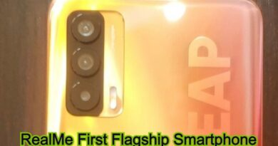 RealMe First Flagship Smartphone