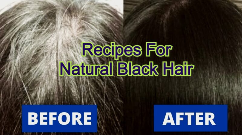 Recipes For Natural Black Hair