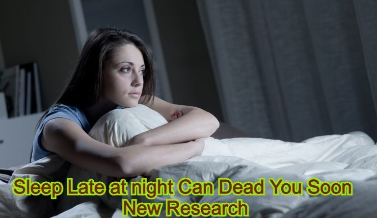 sleep late at night can dead