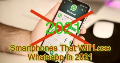 Smartphones That Will Lose Whatsapp In 2021