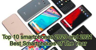 Top 10 smartphones 2020 and 2021