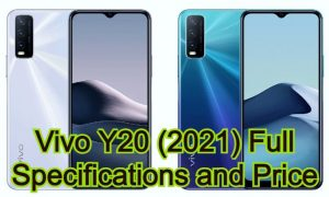 Vivo Y20 (2021) Full Specifications and Price