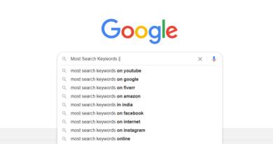 most search keywords SEO