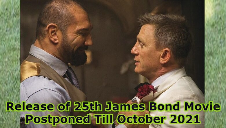 25th James Bond Movie