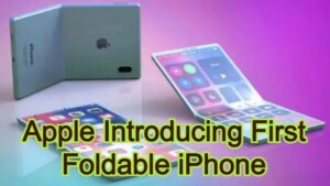 Apple Introducing First Foldable iPhone