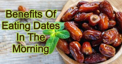 Benefits Of Eating Dates In The Morning