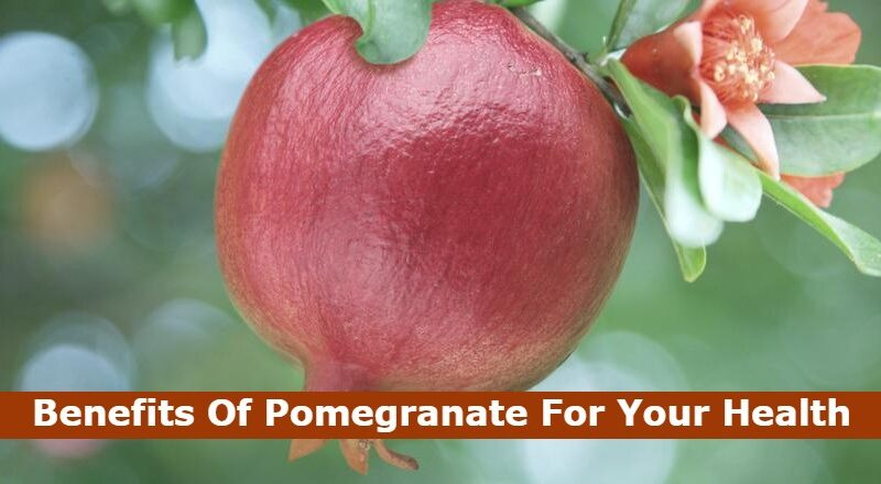 Benefits Of Pomegranate For Your Health