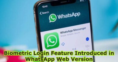 Biometric Login Feature Introduced in WhatsApp Web Version