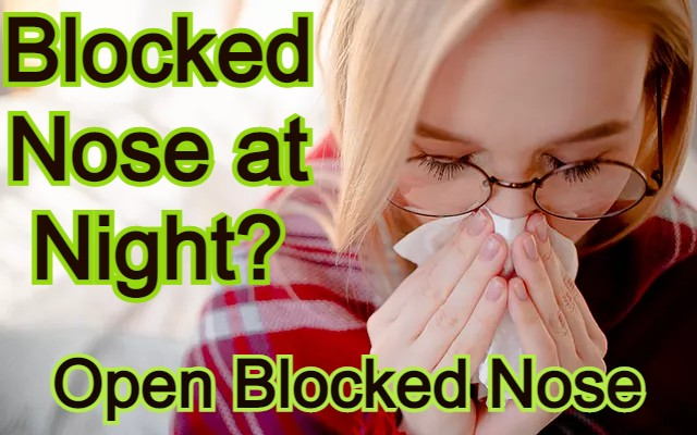 Blocked Nose at Night?