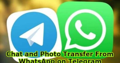 Chat and Photo Transfer From WhatsApp on Telegram