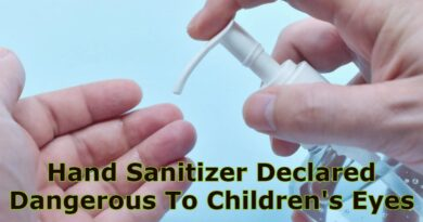 Hand Sanitizer Declared Dangerous To Children's Eyes