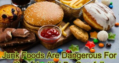 Junk Foods Are Dangerous For Your Health | Be Careful!