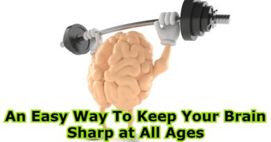An Easy Way To Keep Your Brain Sharp at All Ages