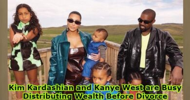 Kim Kardashian and Kanye West are Busy Distributing Wealth Before Divorce