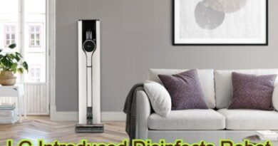 LG Introduced Disinfects Robot