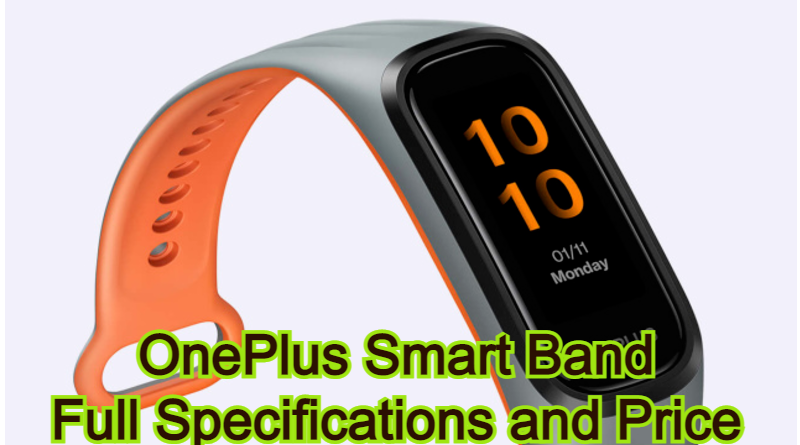 OnePlus Smart Band | Full Specifications and Price