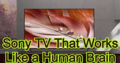 Sony TV That Works Like a Human Brain