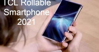 TCL Rollable Smartphone 2021