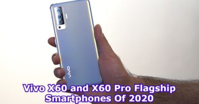 Vivo X60 and X60 Pro Flagship Smartphones Of 2020