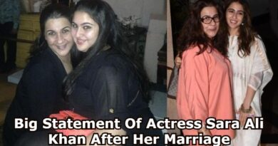 Big Statement Of Actress Sara Ali Khan After Her Marriage