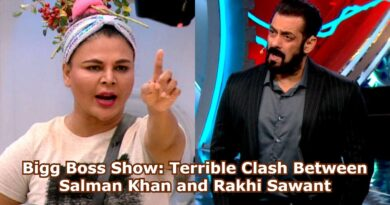 Bigg Boss Show: Terrible Clash Between Salman Khan and Rakhi Sawant
