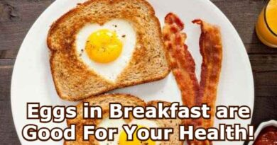 Eggs in Breakfast are Good For Your Health!