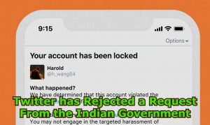 Kisan Tehreek Twitter has Rejected a Request From the Indian Government