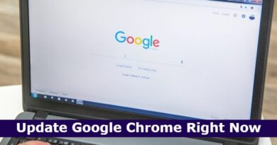Update Google Chrome Right Now