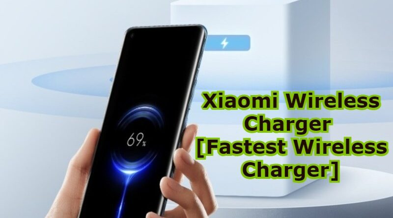 Xiaomi Wireless Charger [Fastest Wireless Charger]