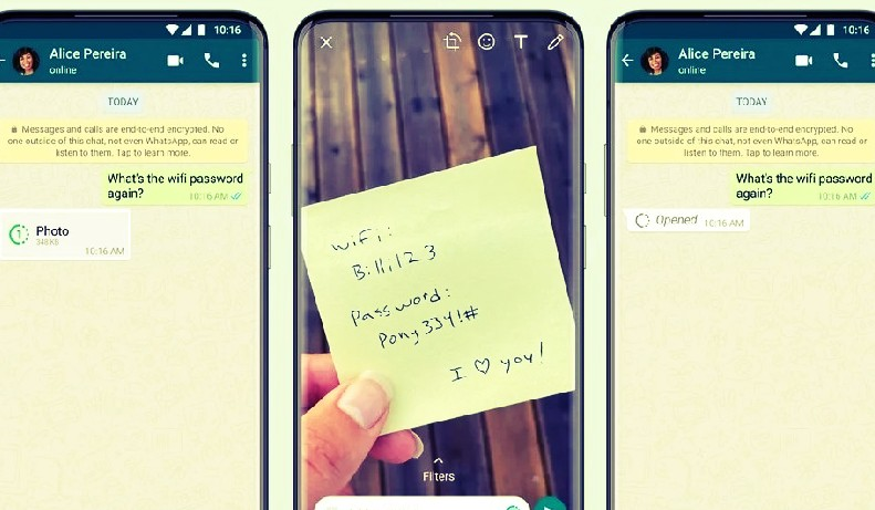 How To Send View Once On WhatsApp