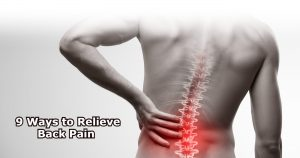 9 Ways to Relieve Back Pain